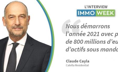 INTERVIEW IMMOWEEK CLAUDE CAYLA